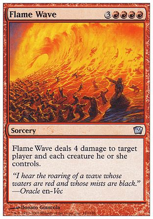 Flame Wave, 9th Edition