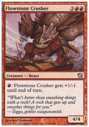 Flowstone Crusher, 9th Edition