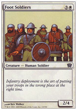 Foot Soldiers, 9th Edition