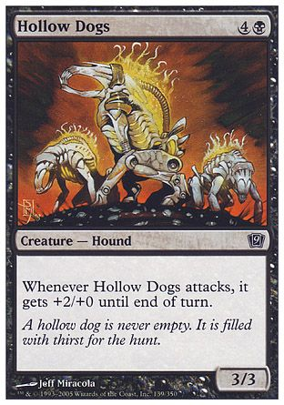 Hollow Dogs, 9th Edition