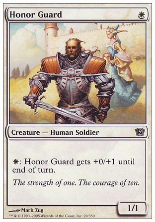 Honor Guard, 9th Edition