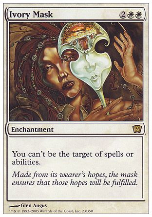 Ivory Mask, 9th Edition