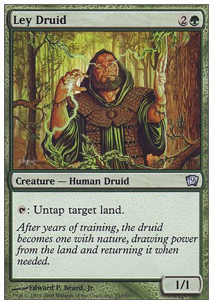 Ley Druid, 9th Edition