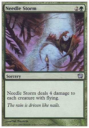 Needle Storm, 9th Edition