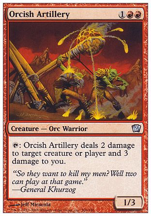 Orcish Artillery, 9th Edition