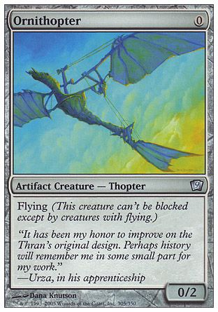 Ornithopter, 9th Edition