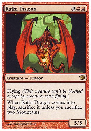 Rathi Dragon, 9th Edition