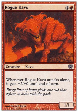Rogue Kavu, 9th Edition