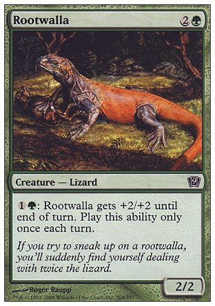 Rootwalla, 9th Edition