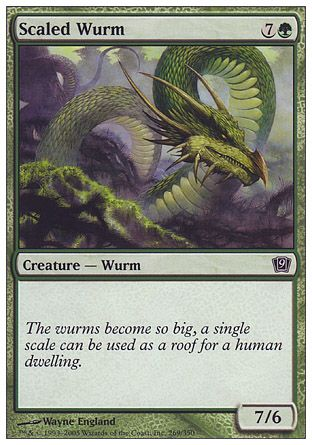 Scaled Wurm, 9th Edition