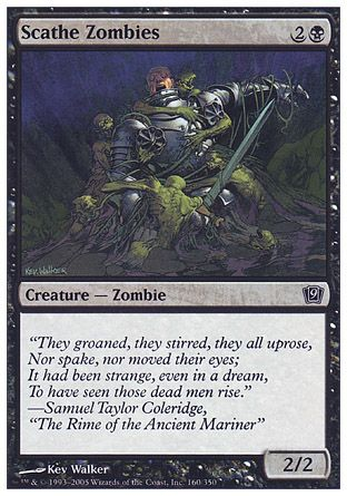Scathe Zombies, 9th Edition