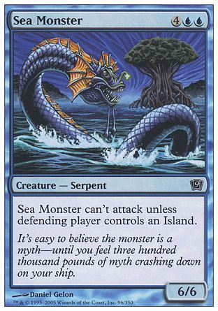 Sea Monster, 9th Edition