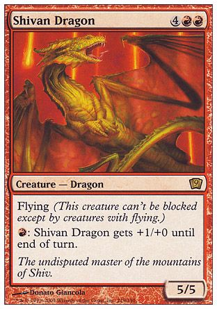 Shivan Dragon, 9th Edition
