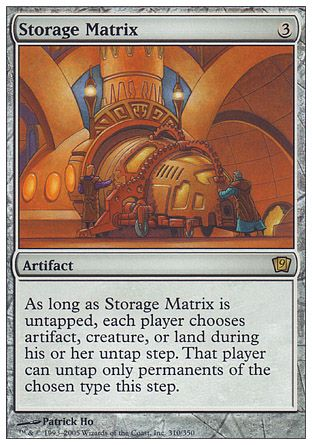 Storage Matrix, 9th Edition