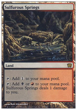 Sulfurous Springs, 9th Edition