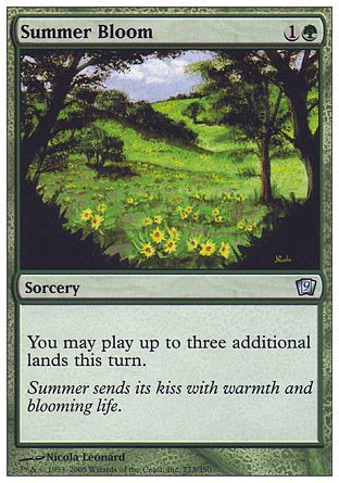 Summer Bloom, 9th Edition