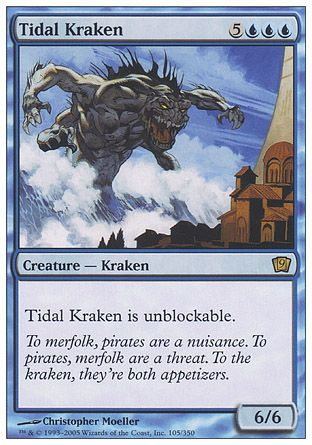 Tidal Kraken, 9th Edition
