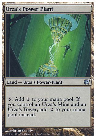 Urza's Power Plant, 9th Edition