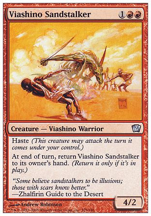 Viashino Sandstalker, 9th Edition