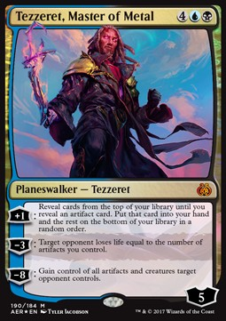 Tezzeret, Master of Metal, Aether Revolt