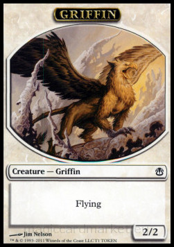 Griffin token, Ajani vs Nicol Bolas