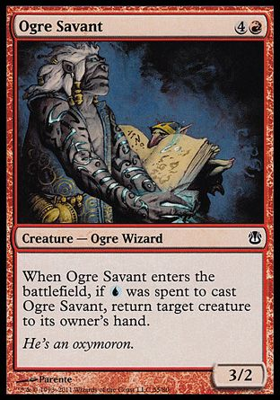 Ogre Savant, Ajani vs Nicol Bolas