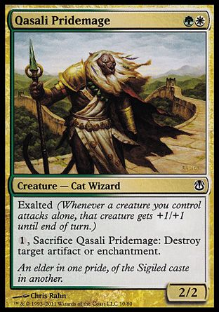 Qasali Pridemage, Ajani vs Nicol Bolas