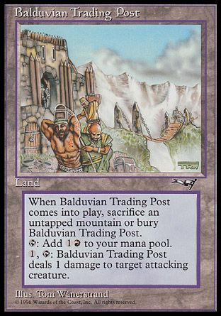 Balduvian Trading Post, Alliances