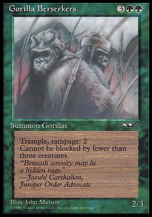 Gorilla Berserkers, Alliances