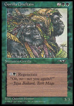 Gorilla Chieftain, Alliances