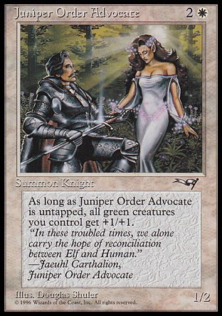 Juniper Order Advocate, Alliances