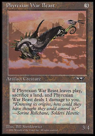 Phyrexian War Beast, Alliances