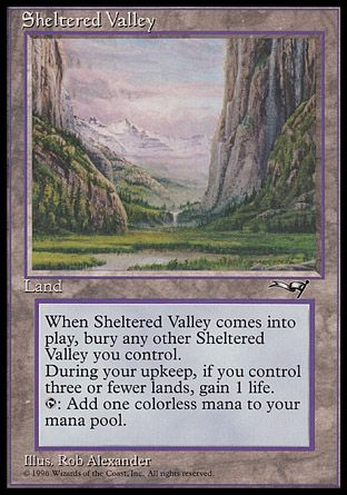 Sheltered Valley, Alliances