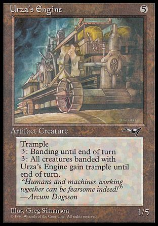 Urza's Engine, Alliances