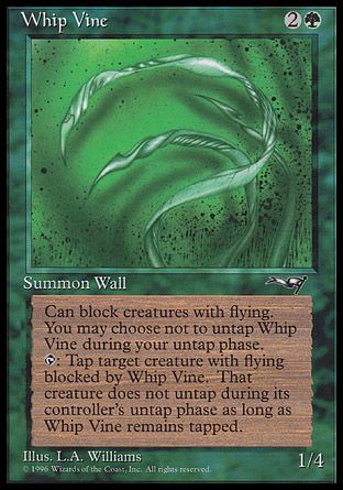 Whip Vine, Alliances
