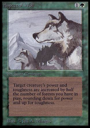 Aspect of Wolf, Alpha