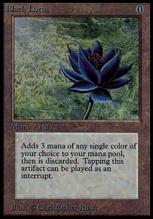 Black Lotus, Alpha