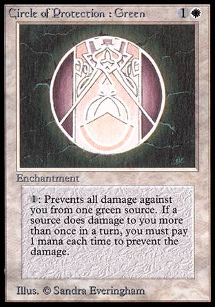 Circle of Protection: Green, Alpha