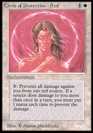 Circle of Protection: Red, Alpha