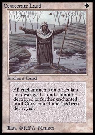 Consecrate Land, Alpha