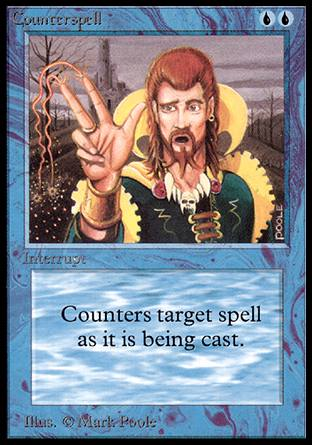 Counterspell, Alpha