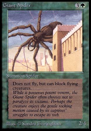 Giant Spider, Alpha