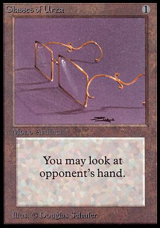 Glasses of Urza, Alpha