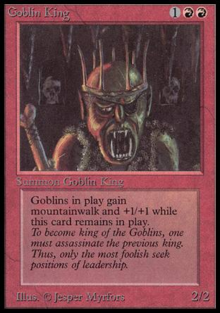 Goblin King, Alpha