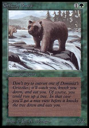 Grizzly Bears, Alpha