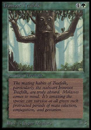Ironroot Treefolk, Alpha