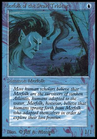 Merfolk of the Pearl Trident, Alpha