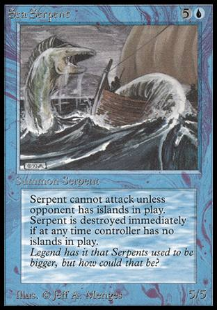 Sea Serpent, Alpha