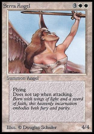 Serra Angel, Alpha