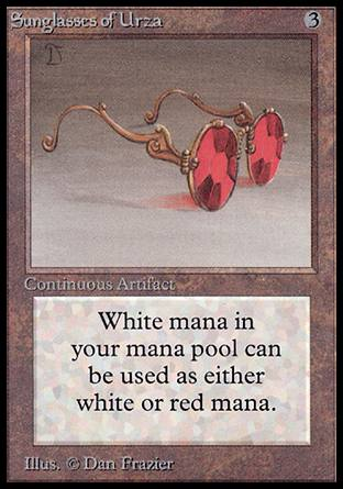 Sunglasses of Urza, Alpha
